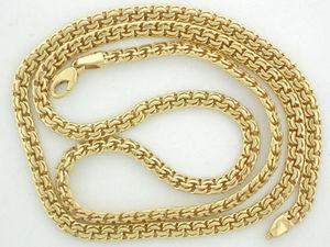 плетение бисмарк золото