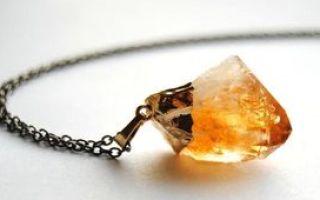 Магические свойства драгоценного камня цитрин